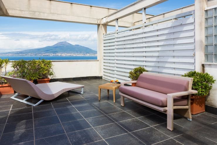 Terrace deluxe full sea view towers hotel stabiae sorrento coast castellammare di stabia